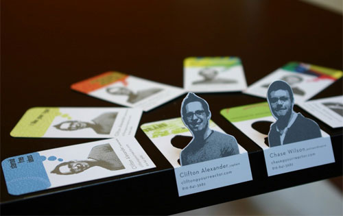 нестандартные визитки